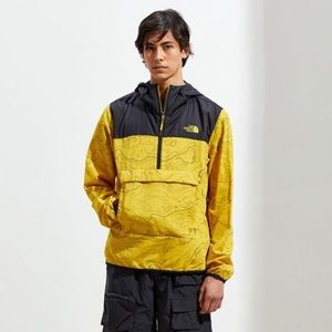 NWT Men's North Face Topography Mustard Jacket